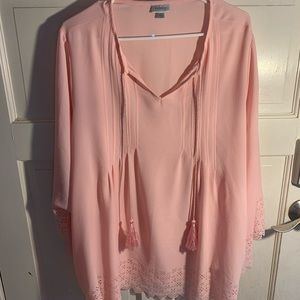 Delicate Blush Blouse